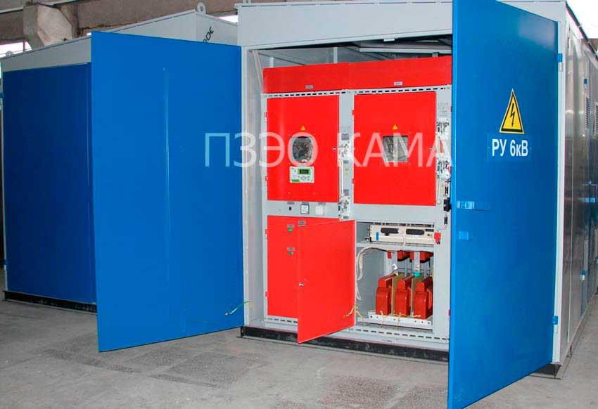 ктп — комплектные трансформаторные подстанции 6-10 кВ