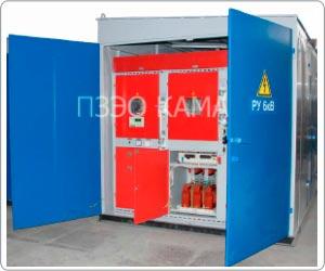 трансформаторная подстанция КТП напряжением 6(10) кВ
